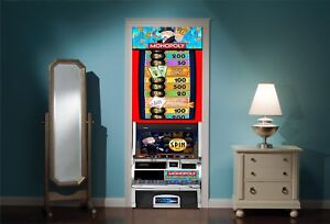 Door-Mural-Monopoly-Amusment-Arcade-View-Wall-Stickers-Decal-Wallpaper-269