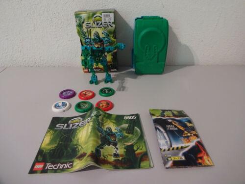 Lego Technic slizer 8500 8505 avec neuf dans sa boîte /& BA 100/% complet d/'occasion TOP b10