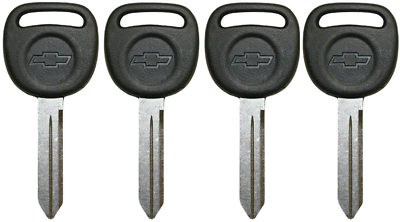 5 Pack OEM Chevy bow-Tie Logo Key Blanks For Select 1999-2009 598007 15026223