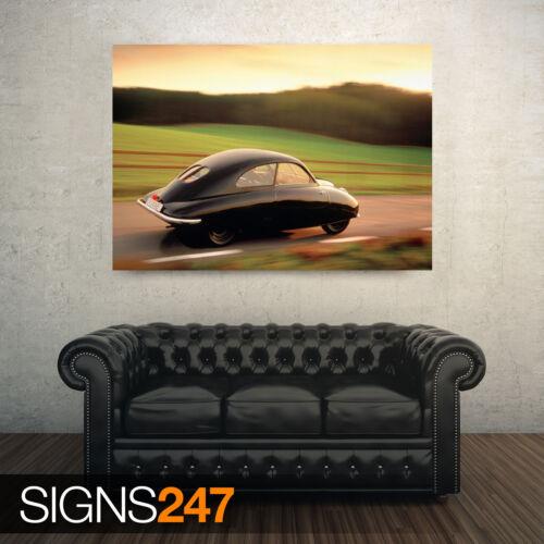 AA978 toutes les tailles classic car poster-photo poster print art 1947 saab ursaab