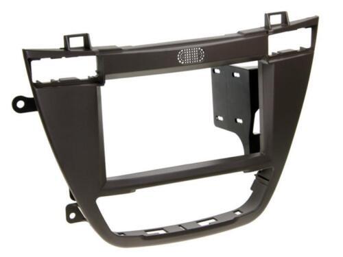 Para estante buick auto radio diafragma instalación marco doble DIN 2-din marrón