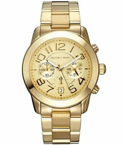Michael-Kors-MK5726-Mercer-Champagne-Chronograph-Unisex-Watch