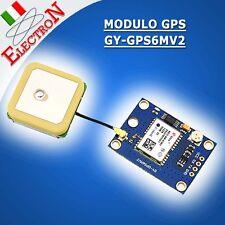 MODULO GPS GY-GPS6MV2 NEOM6MV2 Flight Control SHIELD TRACKER ARDUINO + ANTENNA