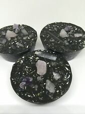 6 Authentic Black Orgonite Tower Busters- Anti EMF/ Chemtrails- Scalar wave EMF