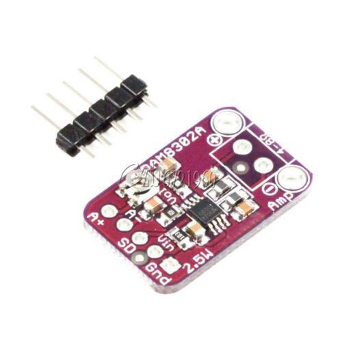 PAM8302 2.5W D-Class Audio Power Mono Amplifier Module Development Board 5.5V