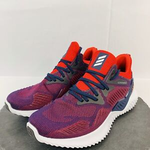 premium selection e4d67 0de3c Image is loading Adidas-Alphabounce-Mens-Beyond-NCAA-Running-Shoes-Training-