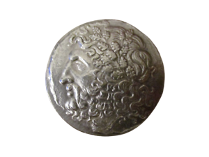 Grecque-Antique-Macedoine-Philippe-II-Tetradrachme-Reamorcage