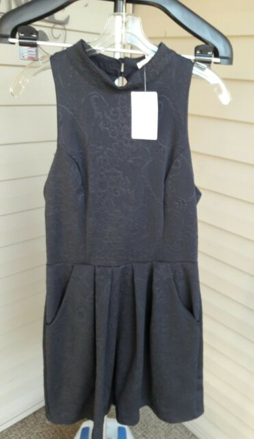 Urban Outfitters Silence and Noise high neck aline dress Black Large