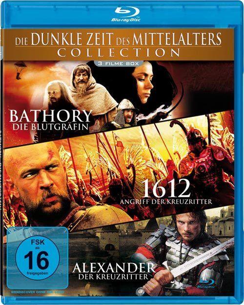 Die dunkle Zeit des Mittelalter - 3 Filme Blu-ray NEU / OVP Kreuzritter