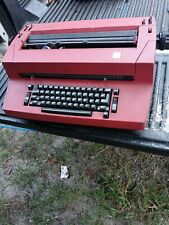 Vintage Ibm Correcting Selectric Ii 2 Electric Typewriter Red Parts Only