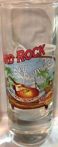 Hard-Rock-Cafe-KEY-WEST-2006-City-Tee-Shirt-4-034-SHOT-GLASS-Cordial-HRC-GLASSWARE