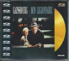 SERGE GAINSBOURG - Mon legionnaire CD VIDEO SINGLE 5TR (PAL) 1988 UK PRINT RARE!