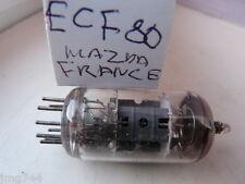 ECF80 MAZDA FRANCE USED VALVE TUBE 1PC J