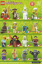 Lego Minifgures Series 13 71008 1 set 16 packs