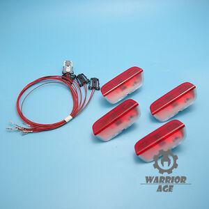 Door-Warning-Light-SET-For-VW-Jetta-Golf-MK5-6-Passat-CC-Tiguan-Touareg-Eos