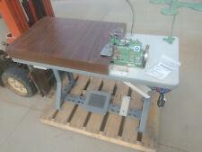 Merrow Mg3dge7wf Nettingmesh Sewing Machine With Consew Csm550 Servo Motor