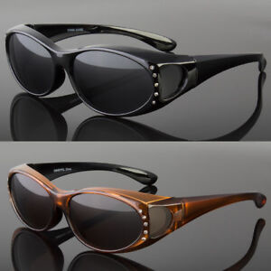 a7e40d02384 Image is loading NEW-POLARIZED-SOLAR-SHIELD-FIT-OVER-SUNGLASSES-COVER-