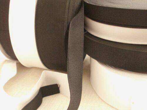 Bundles Flat woven Elastic.Waistband Belts dressmaking cuffs.Various widths