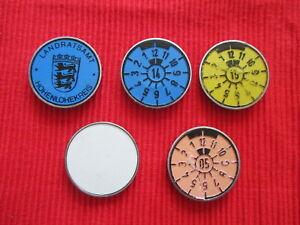 Germanyl-License-Plate-Plastic-Seals-5-types