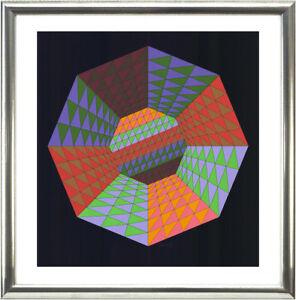 Victor-Vasarely-1906-1997-Komposition-1979-signiert-nummeriert-gerahmt