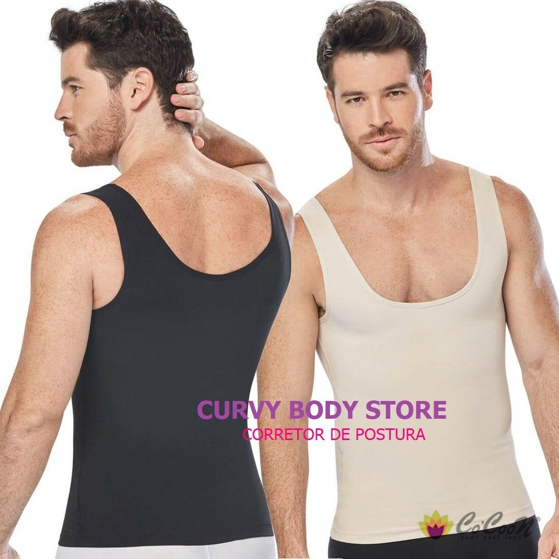 FAJA COLOMBIANA CAMISETA TERMICA BY COCOON 2135 MEN'S THERMAL T-SHIRT POWERNET