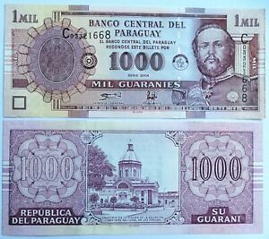 PARAGUAY-1000-guaranies-serie-2004-P-222a-Plancha-UNC
