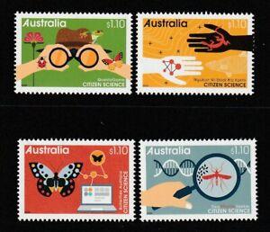 Australia-2020-Citizen-Science-Stamps-Design-Set-Mint-Never-Hinged