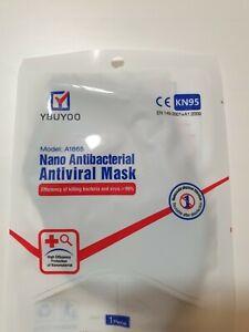 YBUYOO Cloth Face Mask - Nano Antibacterial Antiviral Mask - Reusable Washable