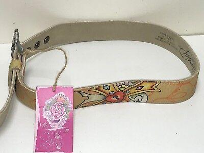 Ed Hardy EH3285 Desert Rose-Kids Girls-Leather Belt