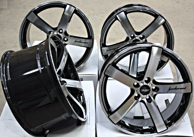 """ALLOY WHEELS 19"""" 19 INCH ALLOYS CRUIZE BLADE BP WHEELS FIT FOR VOLKSWAGEN T5"""
