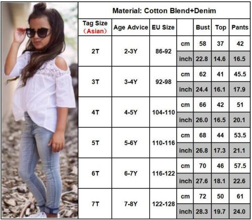 Kid Baby Girl Summer Outfits Casual T-Shirts Tops Pants Bottoms Leggings Set