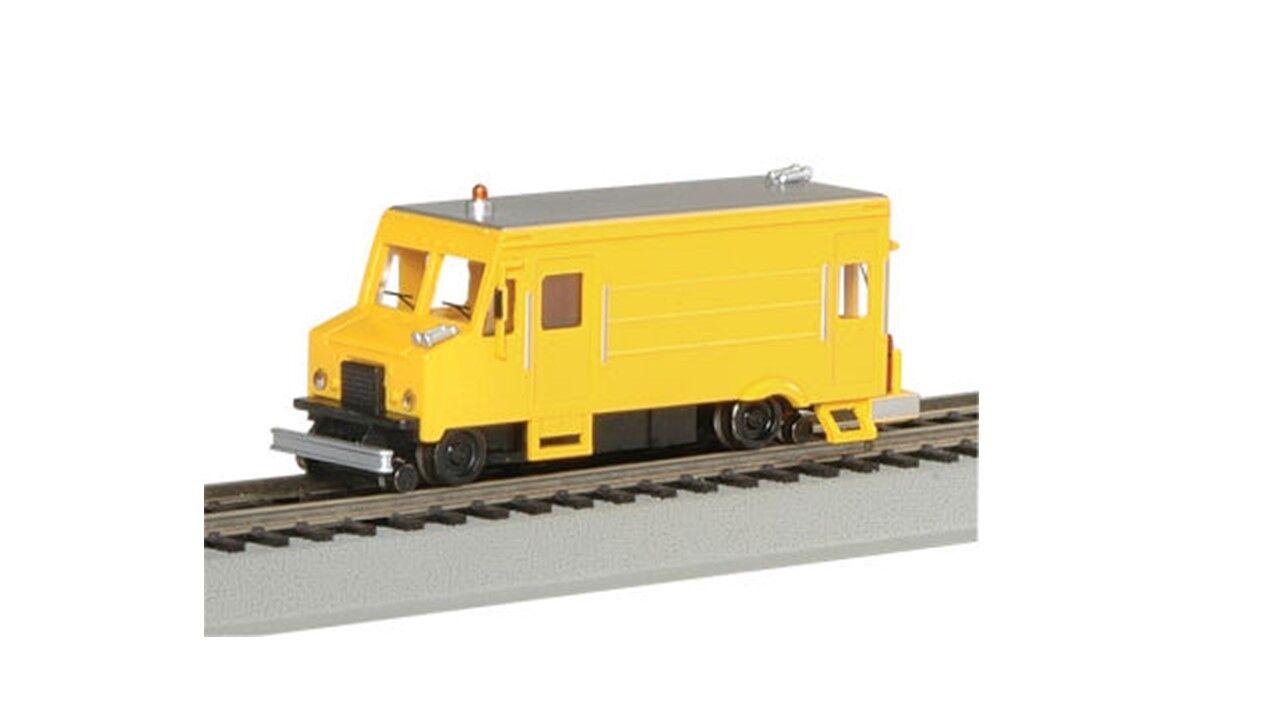 46204 Locomotive Fourgon motorisé maintenance BACHMANN Train HO 1 87