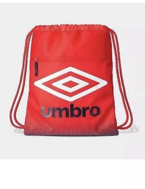 Umbro Heritage Boys Drawstring Bag Red