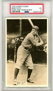 1933-Worch-Cigar-Babe-Ruth-Name-And-Team-In-Box-PSA-3-P717