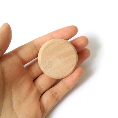 10pcs 37mm No Paint Wooden Cabinet Knob Handle Cupboard Closet Drawer Pull Knob