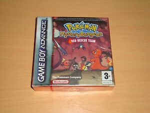 POKEMON-MUNDO-MISTERIOSO-RED-RESCUE-TEAM-NINTENDO-GAME-BOY-ADVANCE-GBA-NUEVO