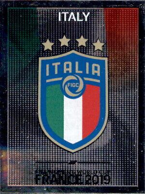 Ausdrucksvoll Panini Frauen Wm 2019 Sticker 195 - Wappen - Italien