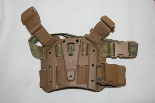 Details about  /BLACKHAWK SERPA LEG PLATFORM SHROUD COYOTE W 2 STRAPS PLATFORM ONLY SEE DESCRPTN