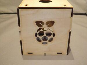 raspberry pi google aiy plywood case