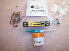 EN3545D01FXB52B CANTWELL 50 POSITION RECTANGULAR CONNECTOR KIT W/ PIN CONTACTS