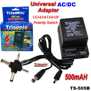 Image Is Loading Universal Ac Dc Adapter 1 5v 3v 4
