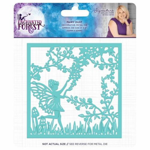 Metal Die Sara Davies Enchanted Forest Signature Collection Fairy Dust