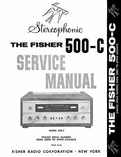 Fisher 500-C 500C Stereophonic Service Manual