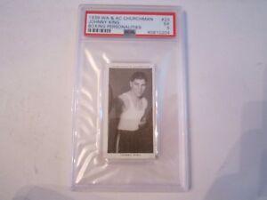 1938-JOHNNY-KING-23-WA-amp-AC-CHURCHMAN-BOXING-CARD-PSA-GRADED-PSA-5-BN-20