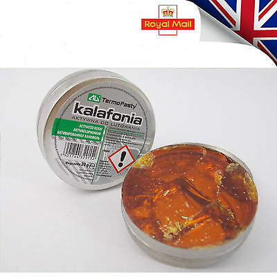 Solid Soldering Flux Rosin Colophony LOT OF 200g.