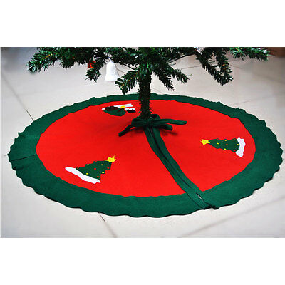 Hot Vintage Christmas Tree Skirt Christmas Tree Decoration Christmas Supplies
