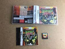Teenage Mutant Ninja Turtles 3 de Pesadilla-Nintendo DS (probado/trabajo) UK PAL