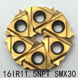 10pcs 16IR A60 SMX30 10pcs 16ER A60 SMX30 Carbide Threading Inserts