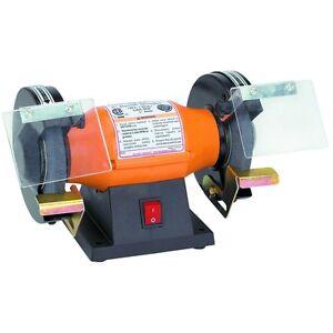 5 Quot 1 3 Hp 120 Volt 60 Hz 4000 Rpm Electric Bench Grinder
