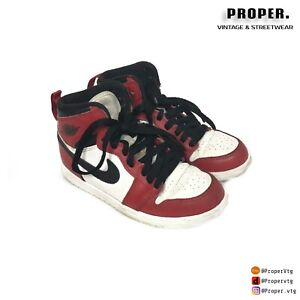 la moitié 86214 ac6a7 Details about Air Jordan 1 Chicago Child Size 13 13C hypebeast Nike
